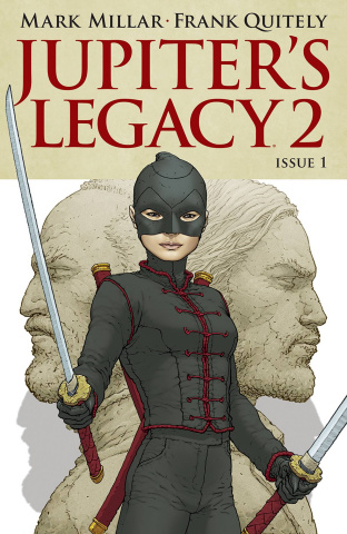 Jupiter's Legacy 2 #1 (Quitely Cover)