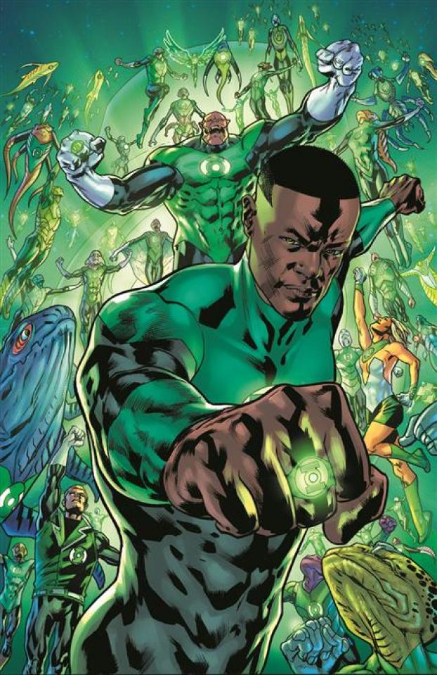 Green Lantern #1 (Bryan Hitch Card Stock Cover)