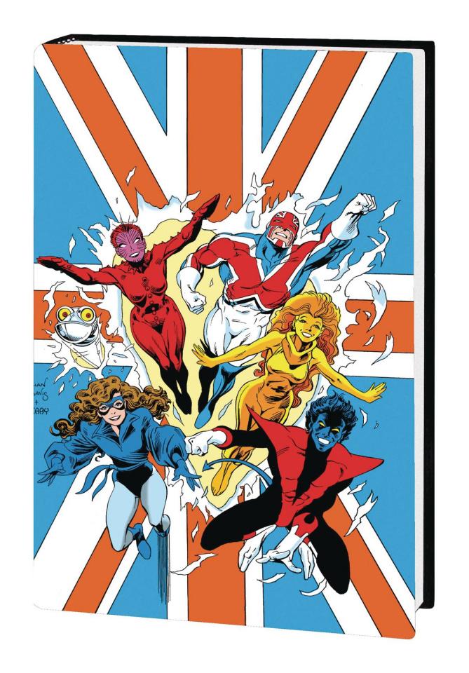 Excalibur Vol. 1 (Omnibus Davis Marvel Age Cover)