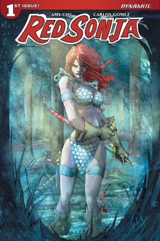 Red Sonja #1 (Camuncoli Cover)