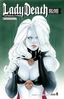 Lady Death: Apocalypse #0 (Kickstarter Cover)