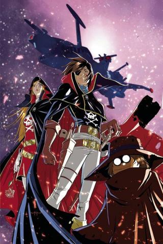 Space Pirate: Captain Harlock #6 (10 Copy Qualano Cover)