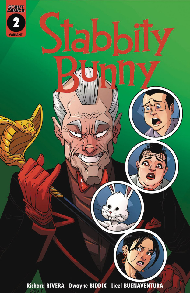 Stabbity Bunny #2 (7 Copy Cover)