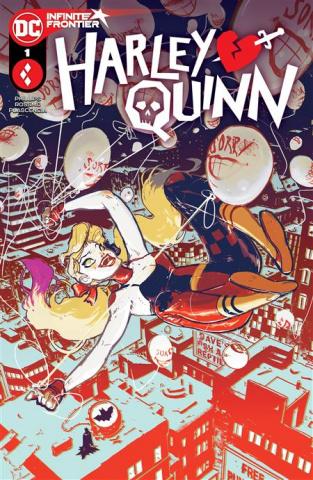 Harley Quinn #1 (Riley Rossmo Cover)