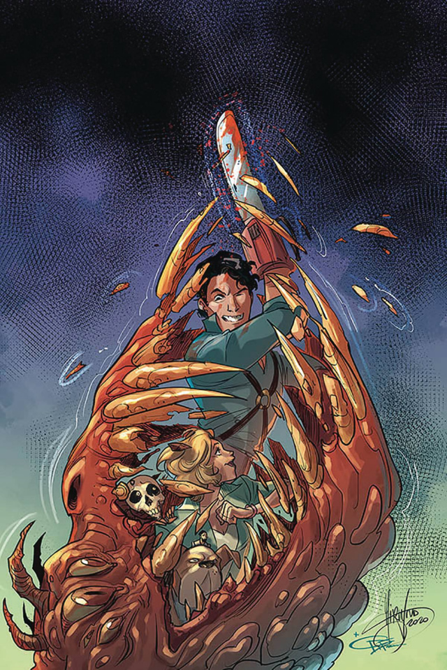 Death to the Army of Darkness #5 (Andolfo Virgin Cover)