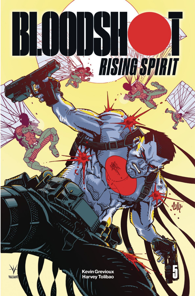 Bloodshot: Rising Spirit #5 (Hamner Cover)
