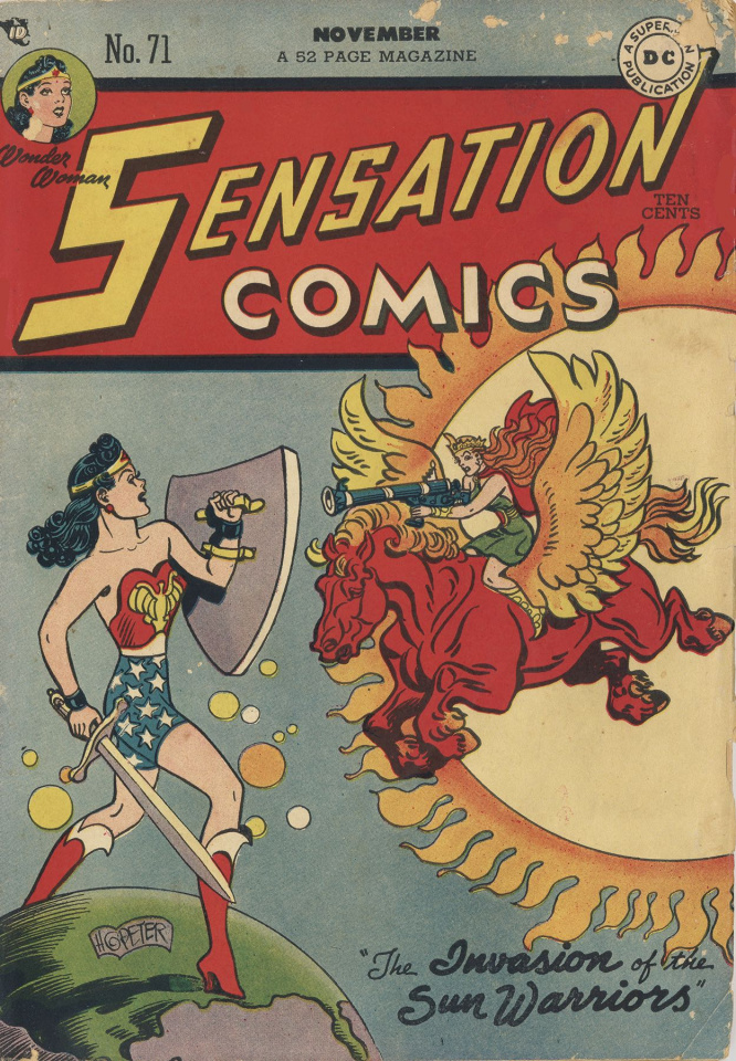 Wonder Woman: The Golden Age Vol. 4 (Omnibus)