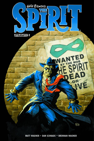 The Spirit #7 (Powell Cover)