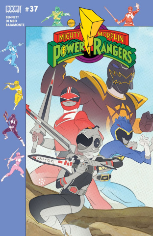 Mighty Morphin' Power Rangers #37 (Preorder Gibson Cover)