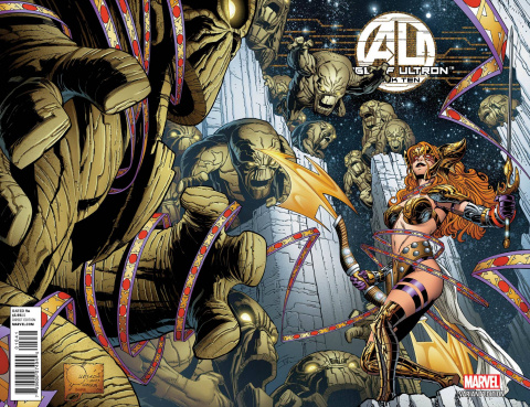 Age of Ultron #10 (Quesada Angela Cover)