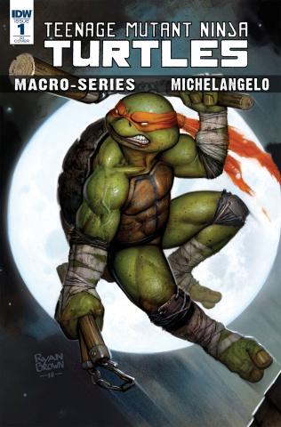 Teenage Mutant Ninja Turtles Macro-Series #2: Michelangelo (10 Copy Brown Cover)