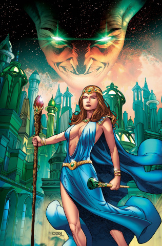Grimm Fairy Tales: Oz the Wizard (Chen Cover)