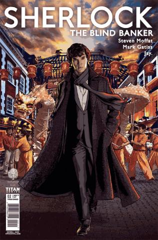 Sherlock: The Blind Banker #2 (Millidge Cover)
