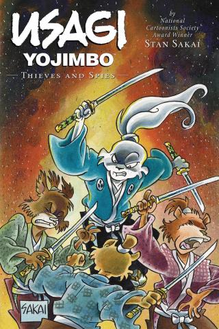Usagi Yojimbo Vol. 30: Thieves and Spies