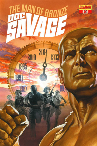 Doc Savage #8 (Ross Cover)