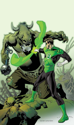 Hal Jordan and The Green Lantern Corps #2 (Variant Cover)