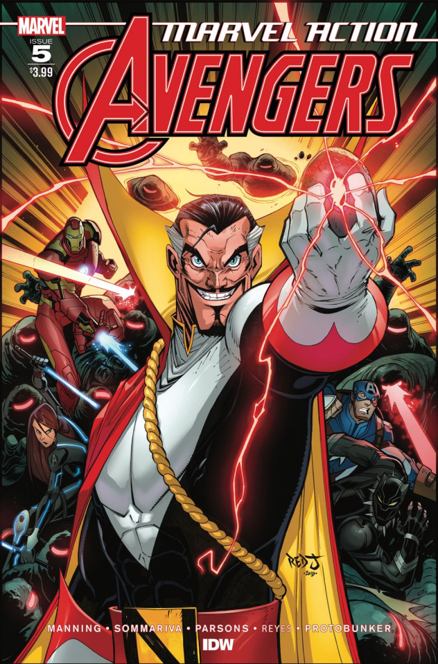 Marvel Action: Avengers #5 (Sommariva Cover)