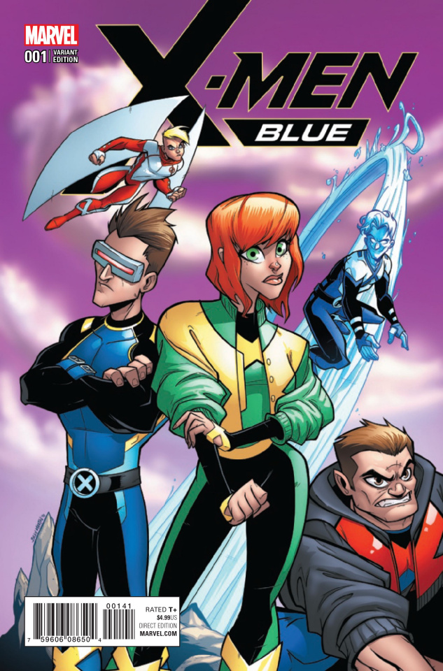 X-Men: Blue #1 (Martin Cover)