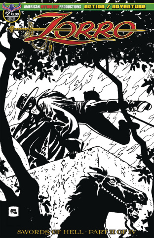 Zorro: Swords of Hell #2 (Visions of Zorro Toth Cover)