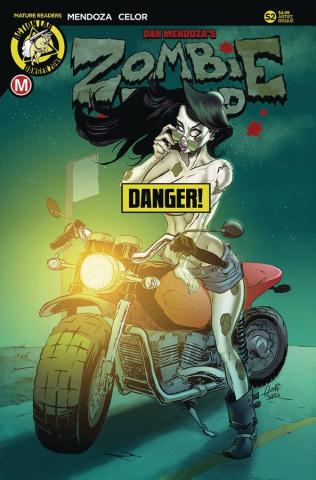Zombie Tramp #52 (Ojeda Risque Cover)