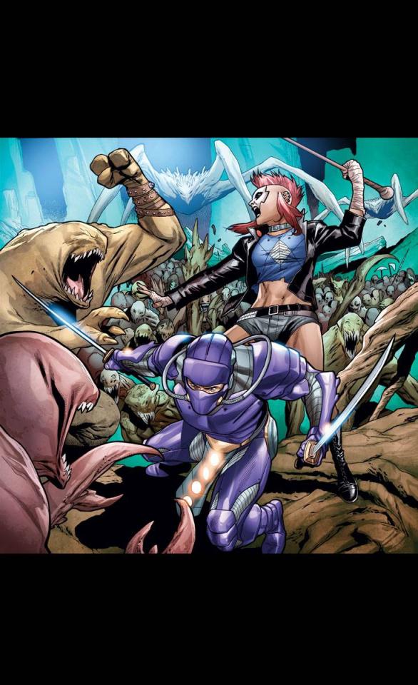 Ninjak #12 (Henry Cover)