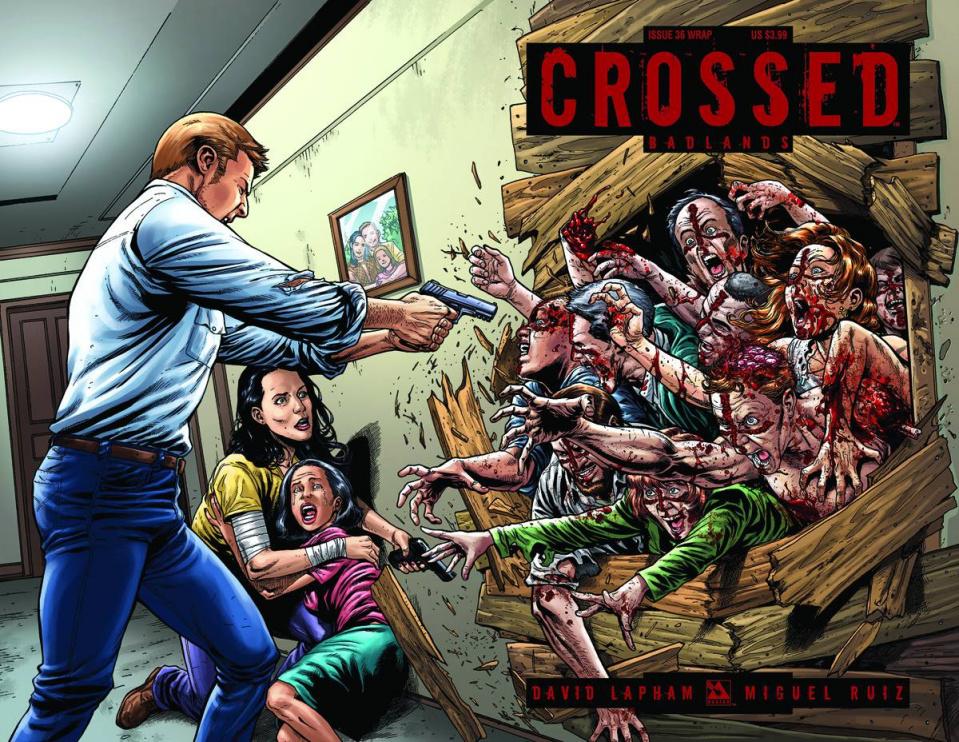 Crossed: Badlands #36 (Wrap Cover)