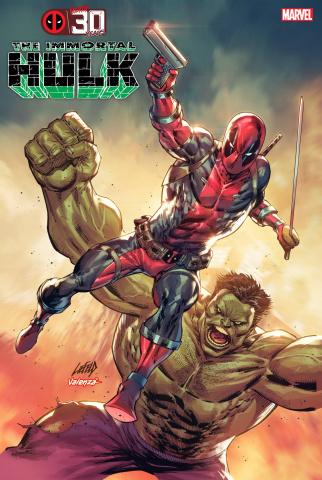 The Immortal Hulk #45 (Liefeld Deadpool 30th Anniversary Cover)