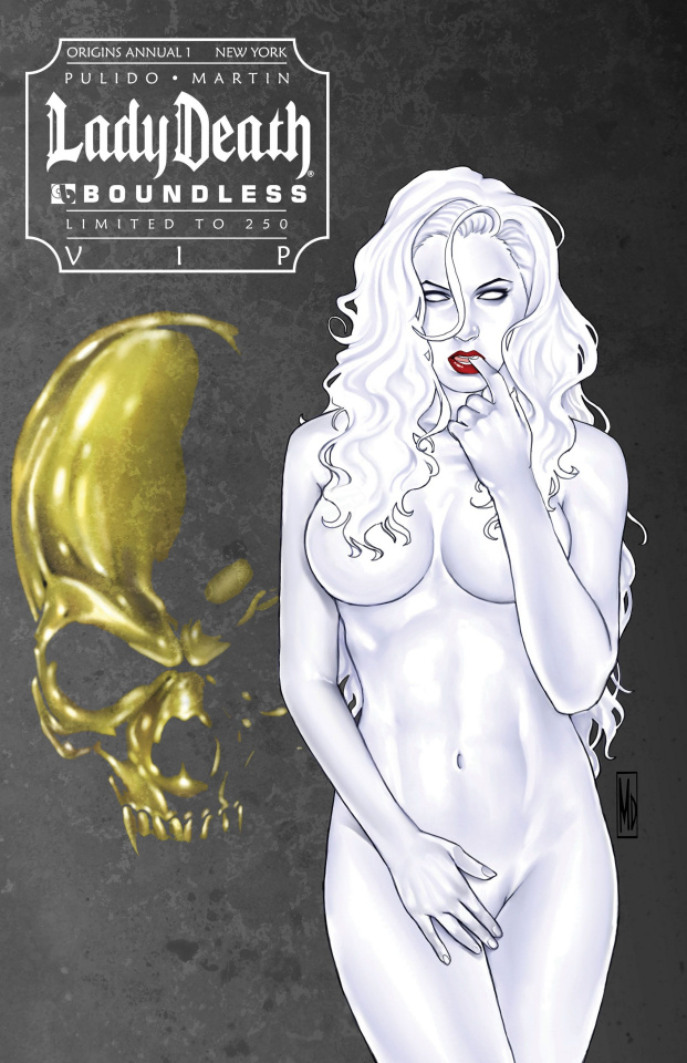 Lady Death Origins Annual #1 (New York VIP Cover)