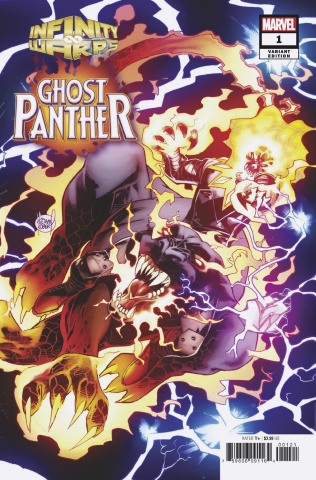 Infinity Wars: Ghost Panther #1 (Kubert Connecting Cover)