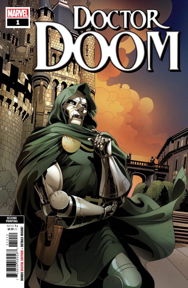 Doctor Doom #1 (Larroca 2nd Printing)