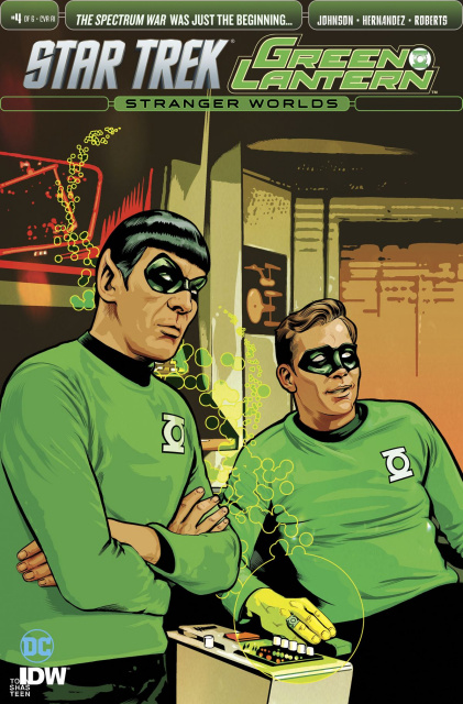 Star Trek / Green Lantern #4 (10 Copy Cover)