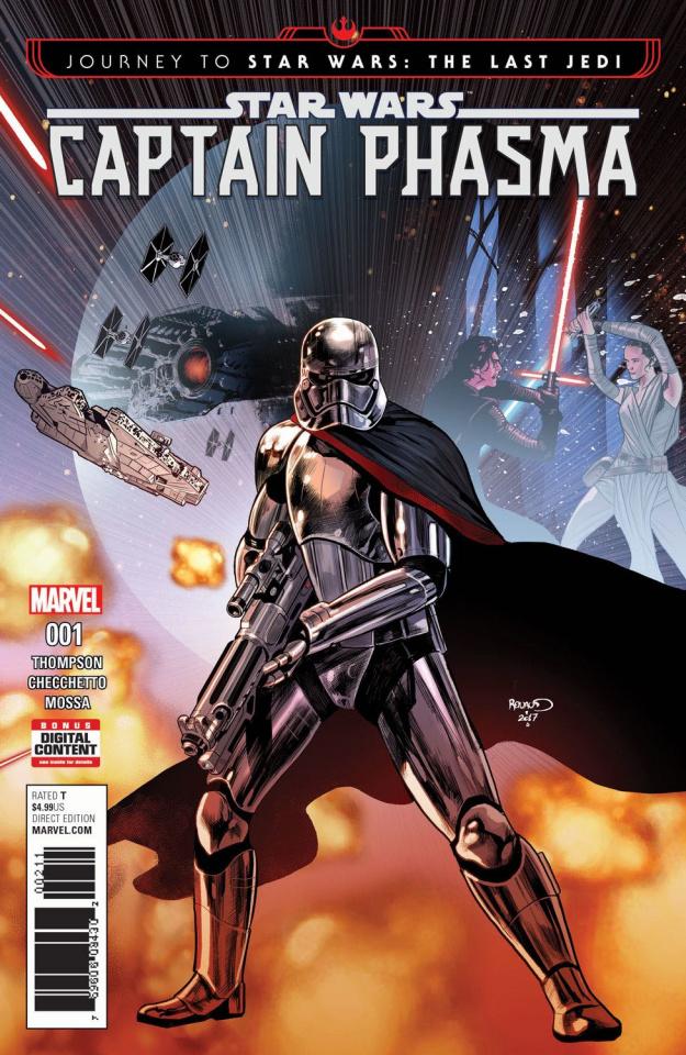 Journey to Star Wars: The Last Jedi - Captain Phasma #1
