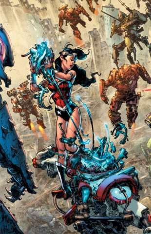 Wonder Woman #49 (Kim Jung Gi Cover)