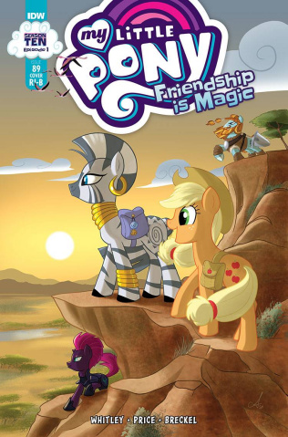 My Little Pony: Friendship Is Magic #89 (25 Copy Mebberso Cover)