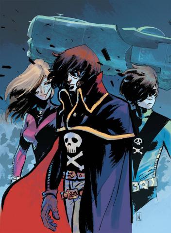 Space Pirate: Captain Harlock #1 (25 Copy Dell Edera Cover)