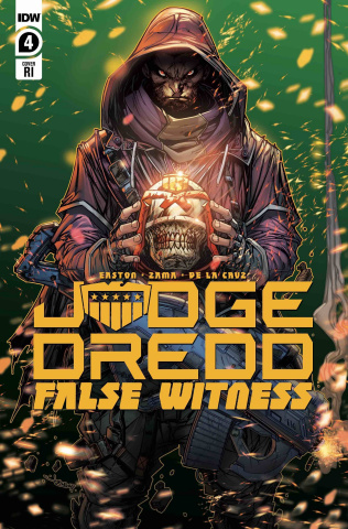Judge Dredd: False Witness #4 (10 Copy Meyers Cover)
