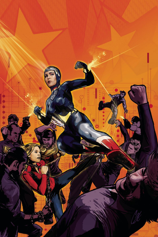 Wonder Woman '77 Meets The Bionic Woman #2 (10 Copy Cover)
