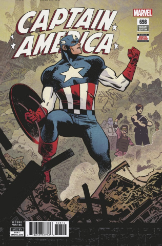 Captain America #698 (2nd Printing)