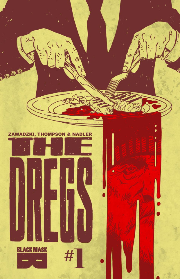 The Dregs #1 (Zawadzki Cover)