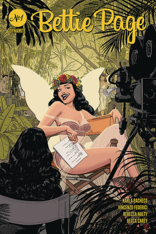 Bettie Page #1 (Kano Cover)