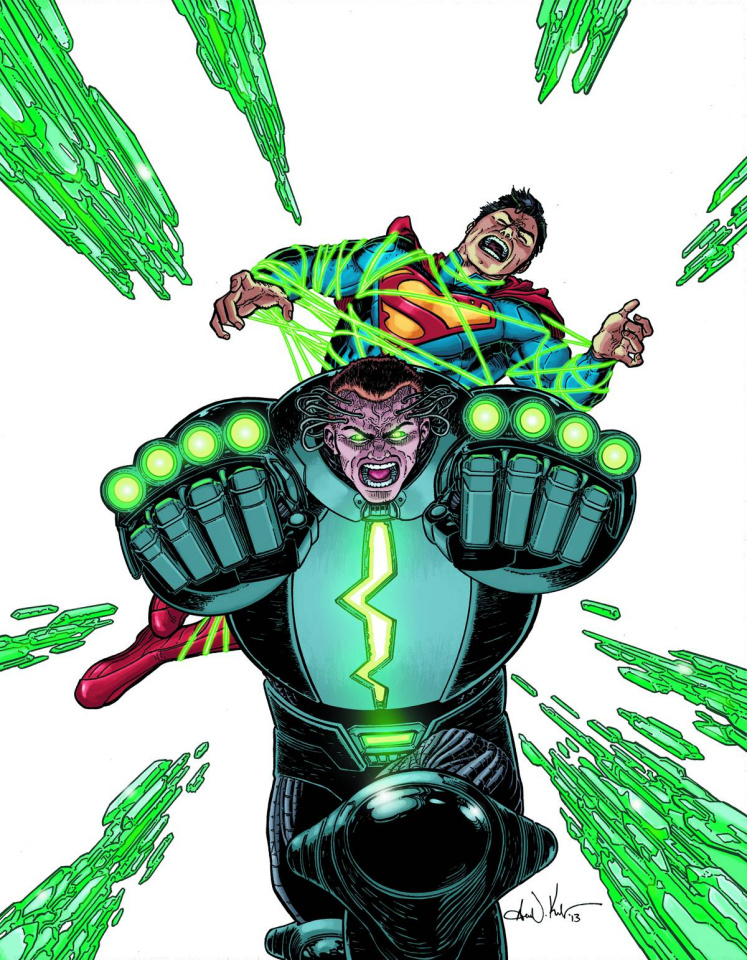 Action Comics #23.4: Metallo