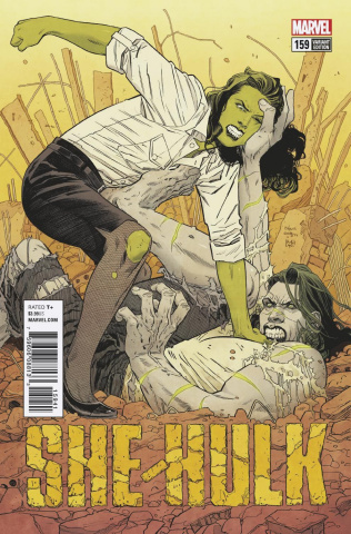 She-Hulk #159 (Evely Cover)