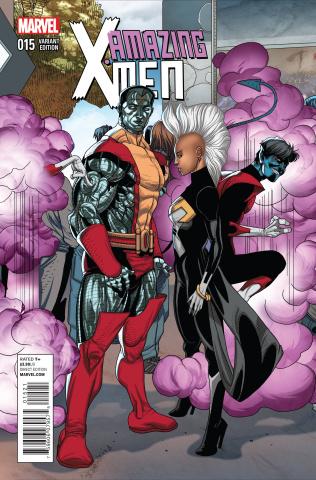 Amazing X-Men #15 (Larroca Welcome Home Cover)