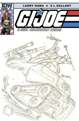 G.I. Joe: A Real American Hero #200 (25 Copy Cover)