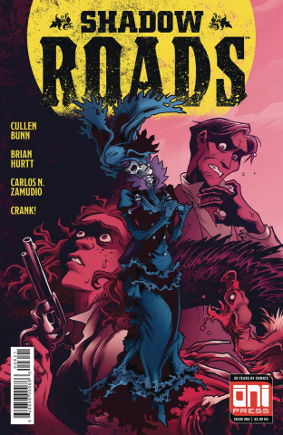 Shadow Roads #6 (Zamudio Cover)