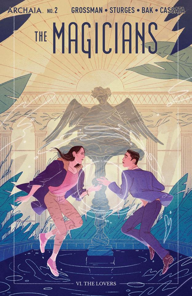 Magicians #2 (Sharpe Cover)