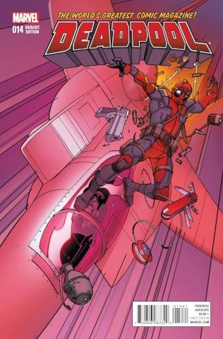 Deadpool #14 (Civil War Reenactment Cover)