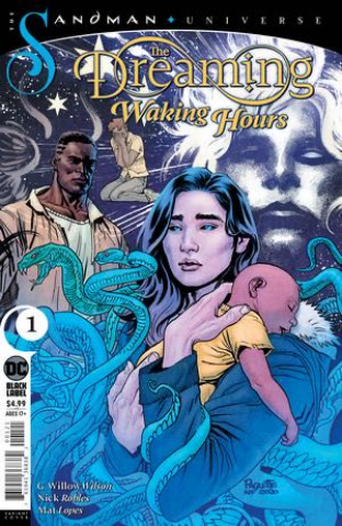 The Dreaming: Waking Hours #1 (Yanick Paquette Card Stock Cover)