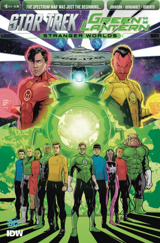 Star Trek / Green Lantern #6