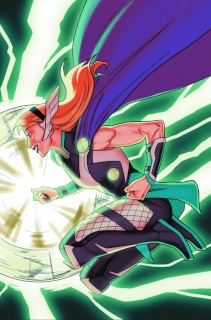 Thors #1 (Anka Gwen of Thunder Cover)
